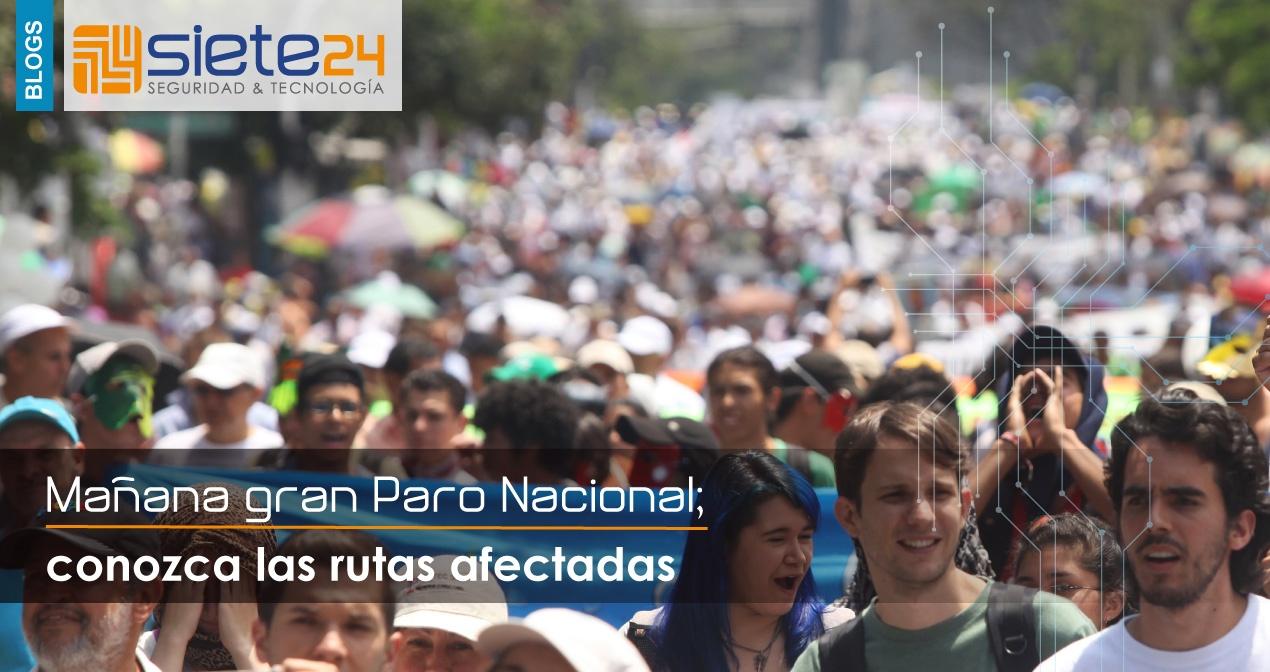 Blog Paro Nacional