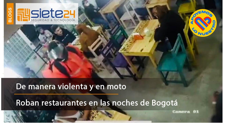 Robos en restaurantes